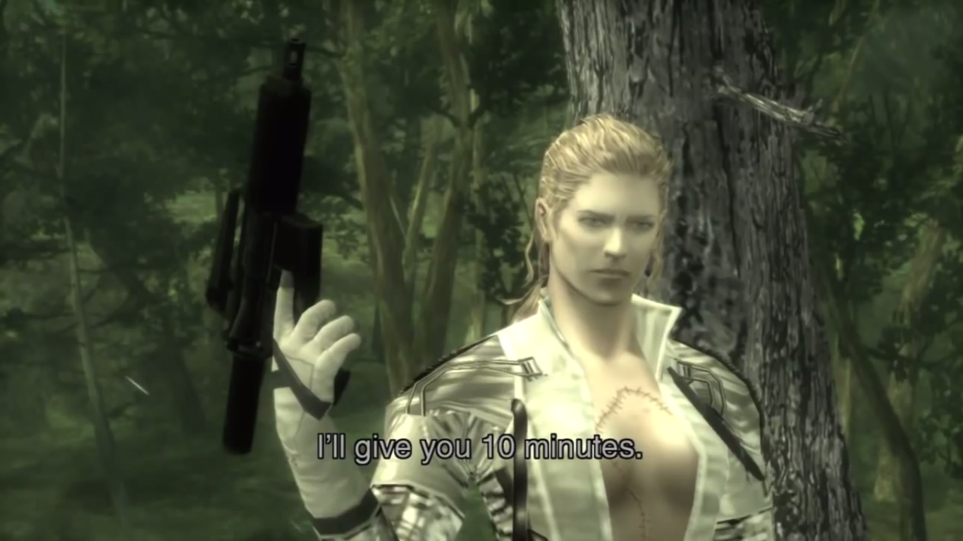 Metal Gear Solid 3 Snake Eater The Boss Feature Images Images