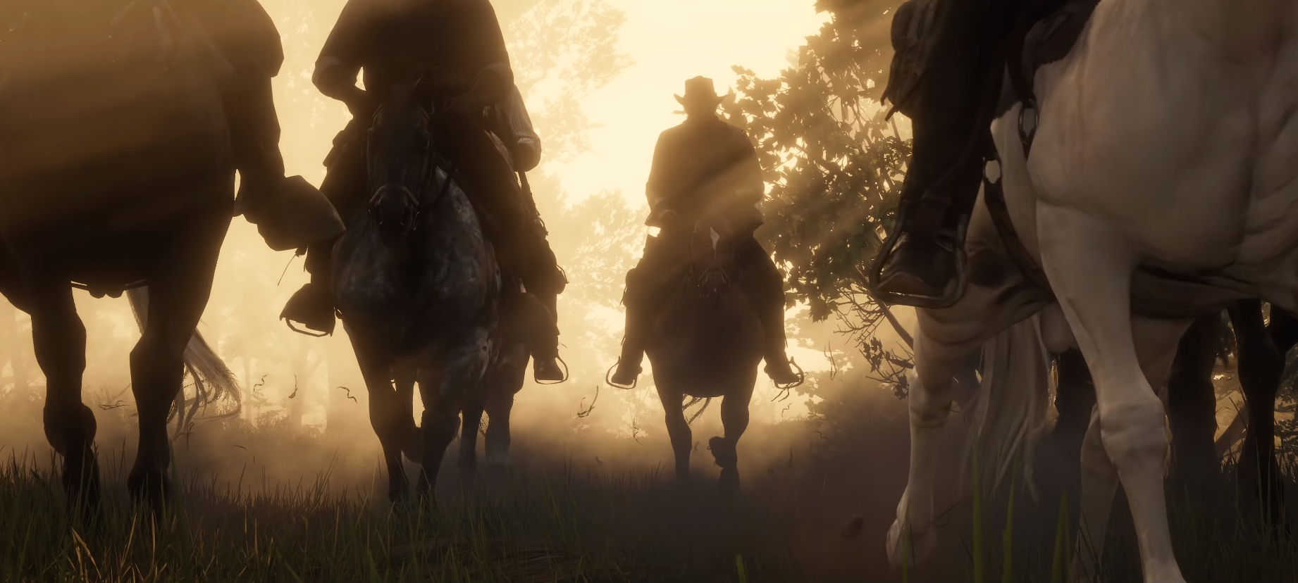 The Gang's All Here and Headed to Town for the PC release of Red Dead Redemption 2""