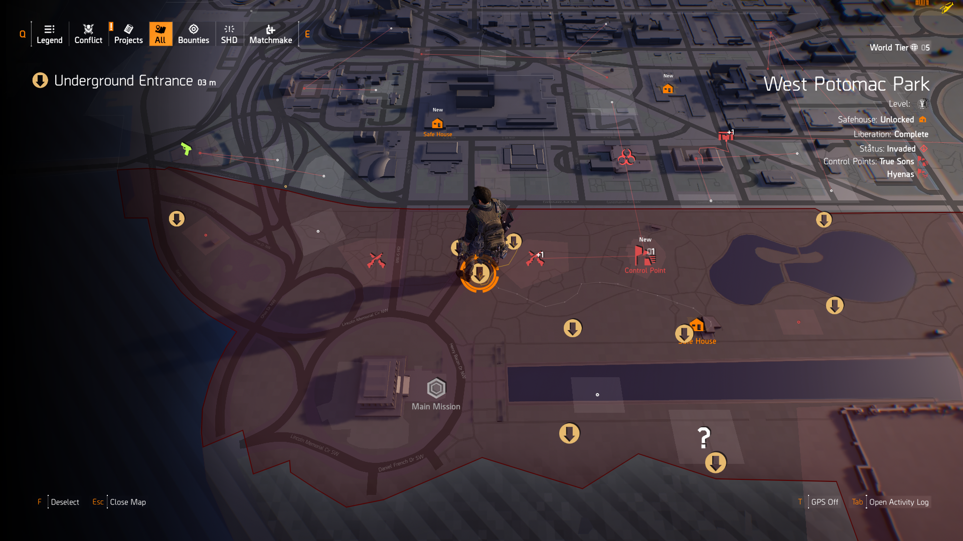 Find Hunters & Collect Masks in The Division 2 - Blogs - Gamepedia