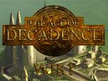 The Age of Decadence Wiki