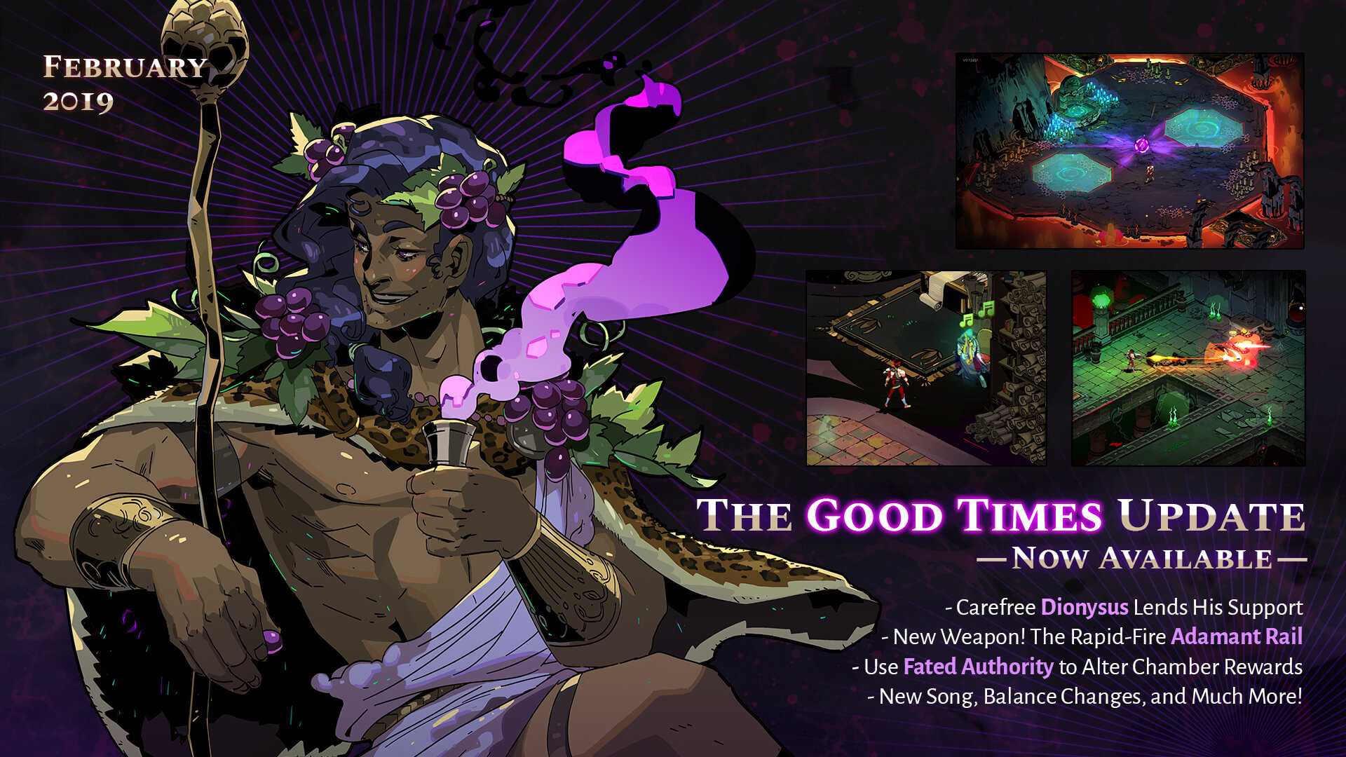Everything New In Hades: The Good Times Update - News