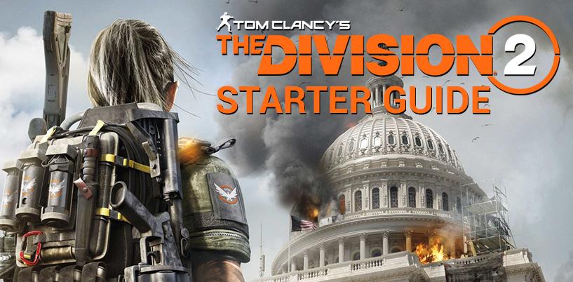 Conseils utiles pour commencer à travailler dans la division 2! 1